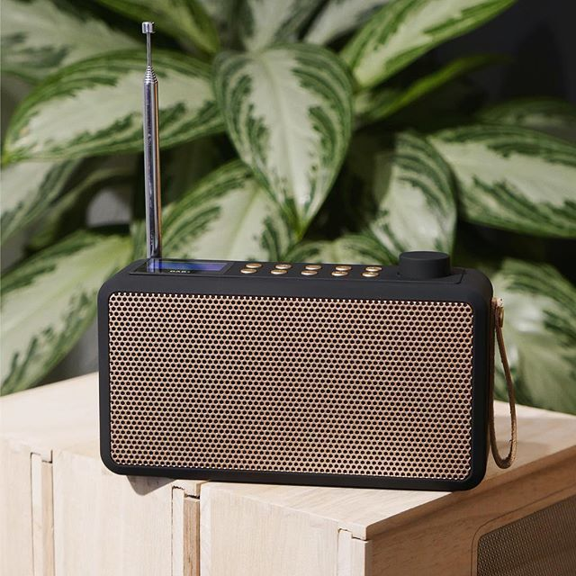 tRADIO from KREAFUNK is DAB+ radio and Bluetooth speaker in one, which enables tuning in on your favourite radio programmes or listen to your own playlist on Spotify, iTunes etc. Photo credit: @shoclifestyle
