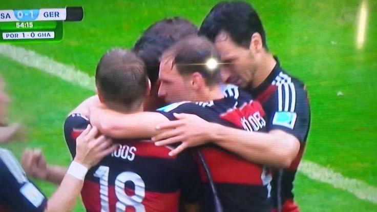 WM 2014- Vorrunde: Deutschland - USA 1:0