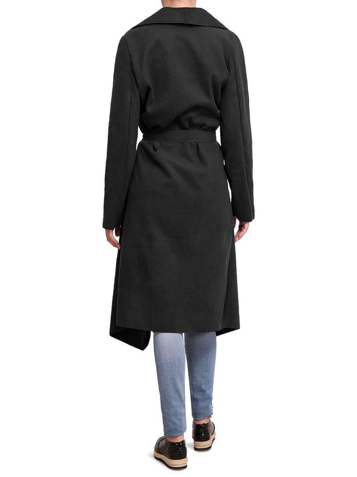 Παλτό με δομημένο ύφασμα