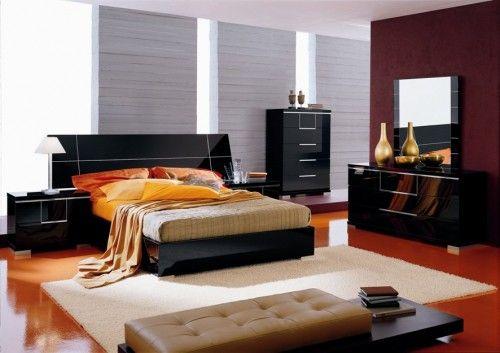 High Quality Black Bedroom Furniture Alf Bedroom