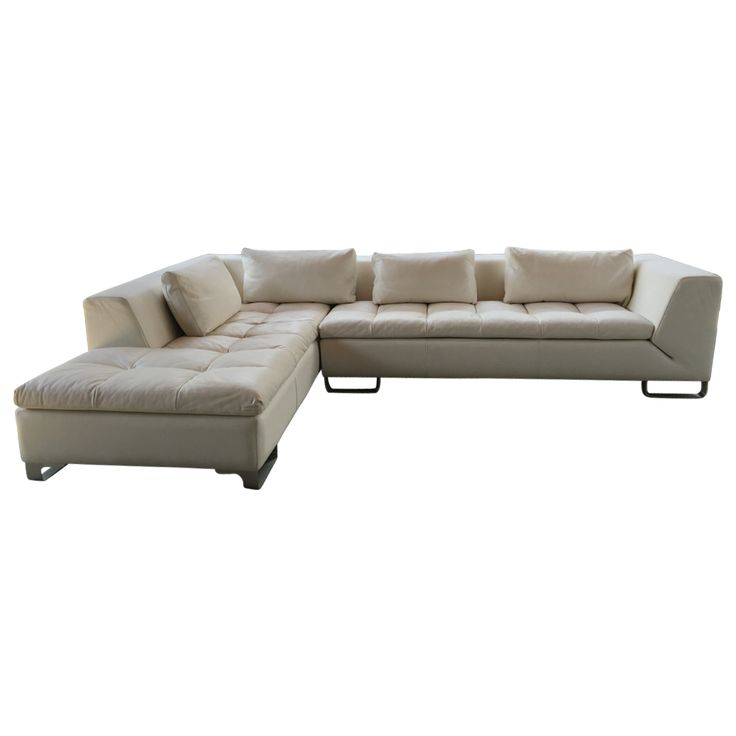 White Leather Sectional Sofa: 17 Best Ideas About White Leather Sofas On Pinterest