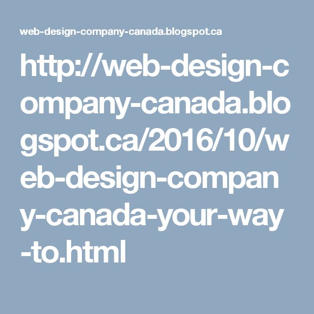 If you are maintaining a business in Canada and have a website, then you should hire a professional Canada web design company that not only designs custom website representing your business effectively but also helps you with online advancements.
