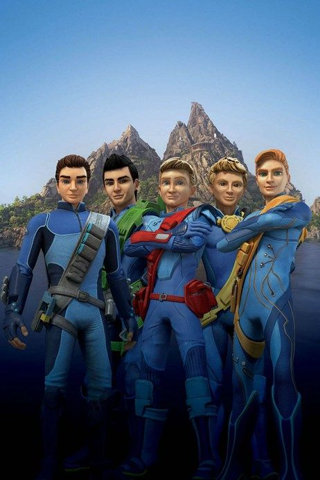 Thunderbirds revamped characters revealed | Ars Technica