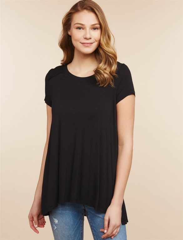 454ee979348 Jessica Simpson Pull Over Side Slit Nursing Top in 2019