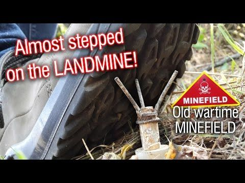 Warning Minefield! Almost stepped on a landmine on the last hunt! - YouTube