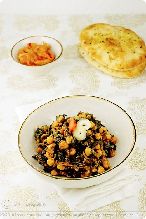 Chickpeas with Spinach... | I Heart Food Part 3... | Pinterest