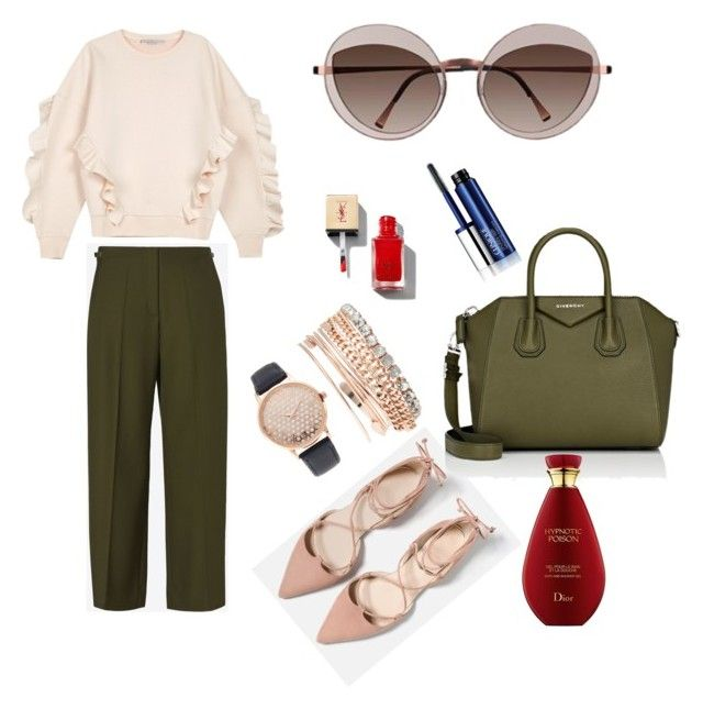 Style with Glamour by lenshop-gr on Polyvore featuring STELLA McCARTNEY, Maison Margiela, Givenchy, Jessica Carlyle, Clinique and sunglasses Lindberg http://lenshop.gr/manufacturers/11676-lindberg/sunglasses