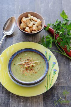 Supa crema dovlecel cu brocoli