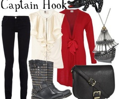 Another Captain Hook Disney Bound outfit. I love this!