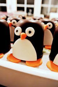 Charly's Style of Life: TRAKTATIE pinguïn verjaardag. Birthday.