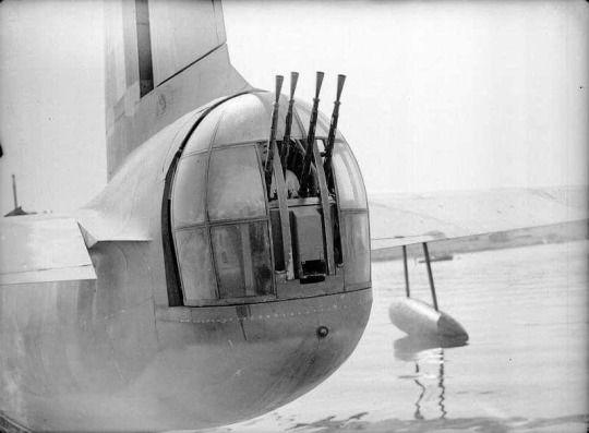 Short Sunderland rear turret