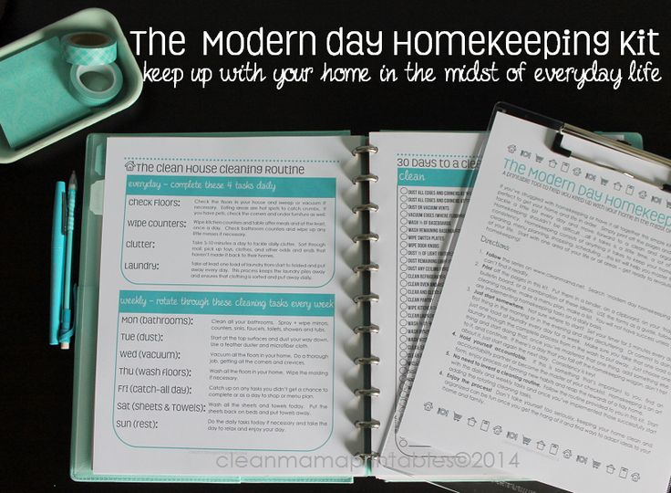In need of some help to stay on top of the day-to-day routine of running a household? Check out The Modern Day Homekeeping Kit via Clean Mama Printables. It is loaded with all sorts of practical and helpful printables!