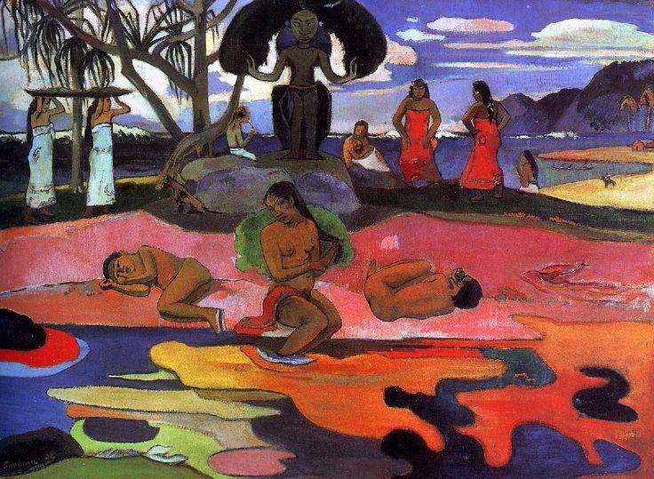Paul+Gauguin+1894+Mahana+no+atua%2C+Day+of+the+Gods%2C+68.3+x+91.5+cm+Art+Institue+of+Chicago.jpg 1200×880 pixels
