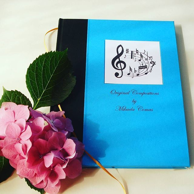 INSPIRE A MUSICIAN. Love them with a custom composer's journal, full of blank sheet music, designed especially for the occasion. Text and/or image on the cover is no extra charge. Get your free cover mock up today. @transientbooks Hand bound originals. ht