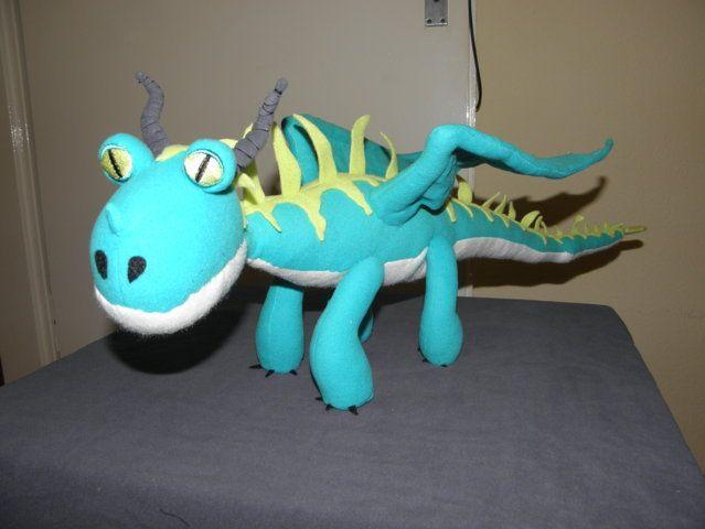 der schreckliche Schrecken nähen , Drache, inspiriert von Drachen zähmen leicht gemacht