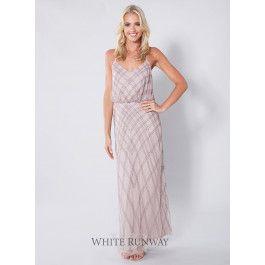 White Runway,Trinity Beaded Dress