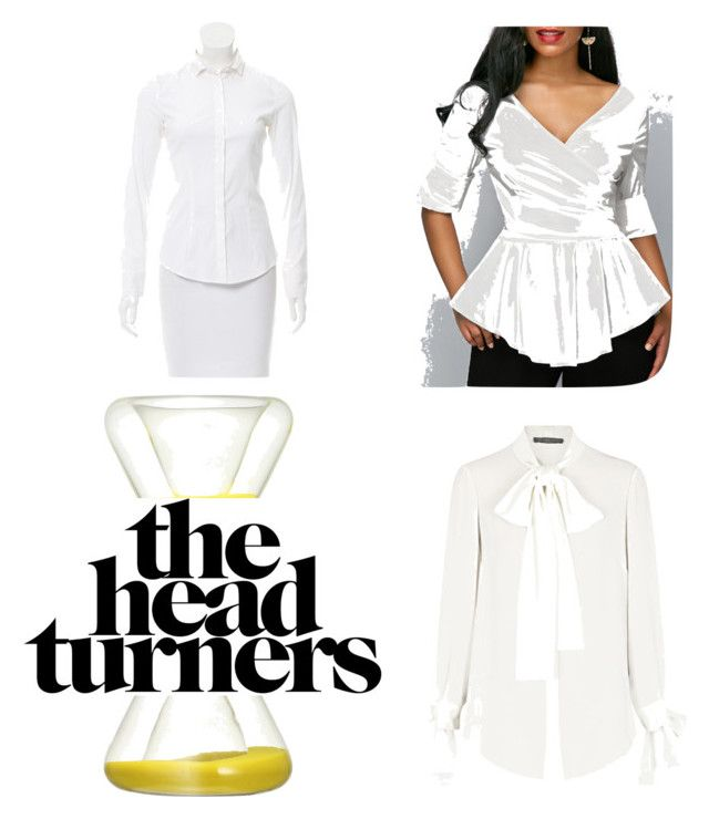 Perfect Shirt for an Hourglass Shape by maimmelbourne on Polyvore featuring Alexander McQueen and Brunello Cucinelli