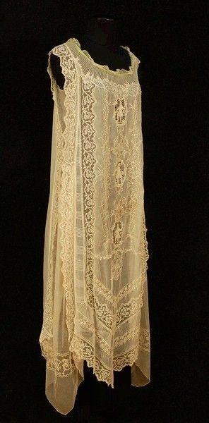 1920's lace dress