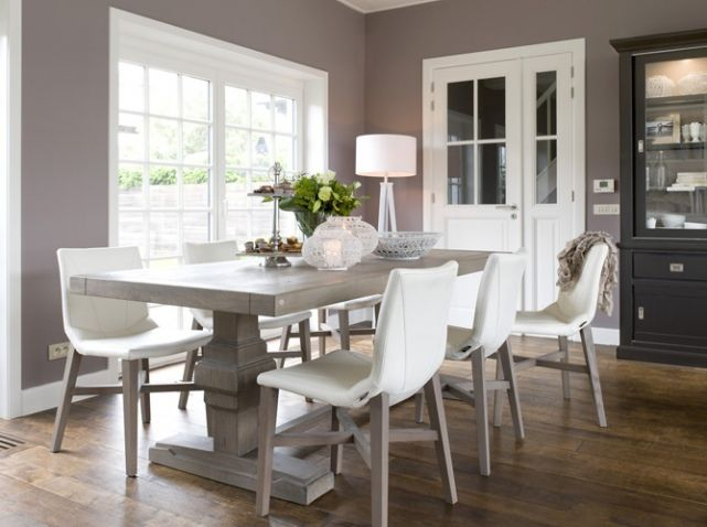 salle a manger taupe house home pinterest. Black Bedroom Furniture Sets. Home Design Ideas