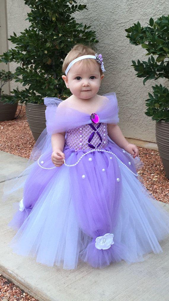 Sofia the First Dress- Princess Tutu Dress- Princess Dress- Disney Costume…
