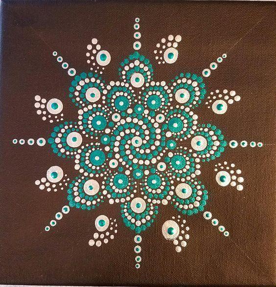 Mandala metálico original