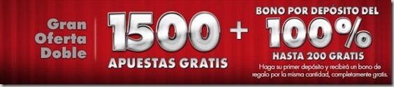 Bono de bienvenida del casino online Platinum Play: 1500 apuestas gratis más bono por depósito del 100% hasta un máximo de 200