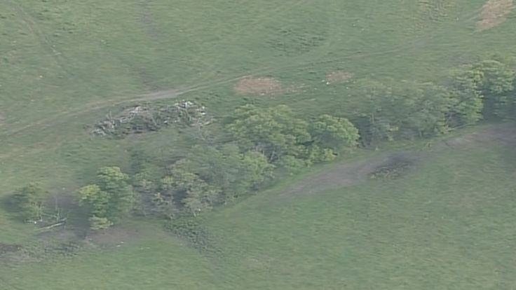 On Sunday, Chopper 5 flew over the area where Jacob Wetterling's bones and other evidence were found by authorities...