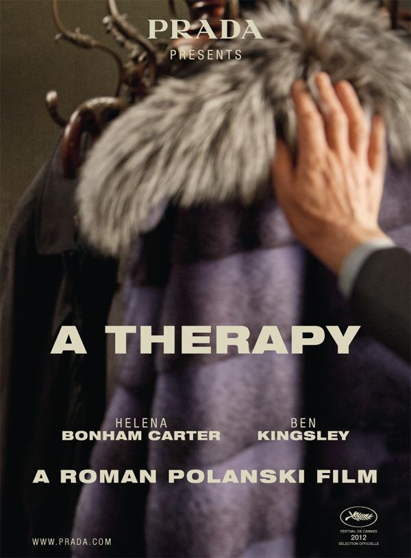 Prada presents 'A Therapy' by Roman Polanski