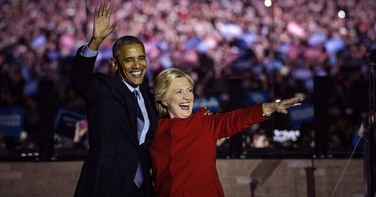 "In a New Poll, Hillary Clinton and Barack Obama Top ""Most Admired"" Lists"