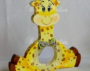 Baleiro Safari Girafa