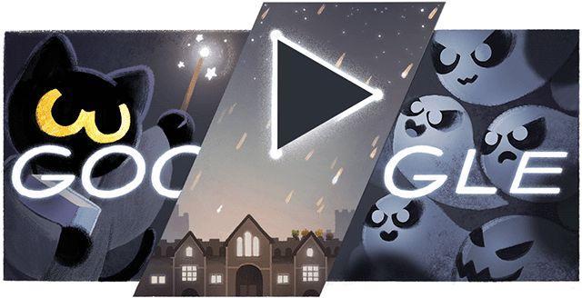 Google+has+launched+their+Halloween+Doodle,+aka+Google+logo...
