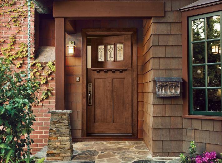 All About Fiberglass Entry Doors Craftsman Door Craftsman Style Front Doors Beautiful Front Doors