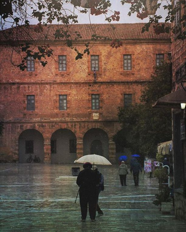 Syntagma Square, Nafplio, Greece, Navplion, Greece — by David M. Simpson. Rainy…
