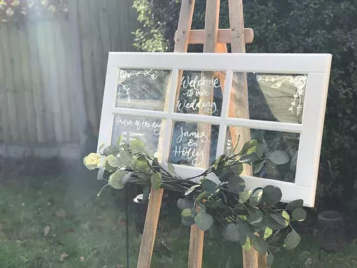 Top 5 Ikea Hacks for Wedding Signs and Decorations | The Original Modern Signwriting Company #weddinghacks