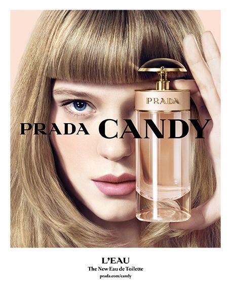 PRADA CANDY L'EAU Vivace, elegante e sensuale, lo spirito della fragranza coincide con l'ottimismo di Candy, per cui non c'è momento migliore del presente per essere vivi.