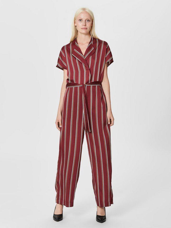 32ba734334 Selected Femme Gestreifter Jumpsuit in 2019 | Produktkatalog Fashion ...