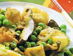 Opskrift - Vegetar - Kinesiske svampe med friturestegt tofu