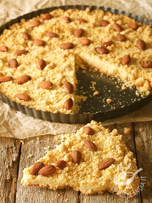 Cake sbrisolona gluten-free - La Torta sbrisolona è un dolce tipico della città di Mantova: è una torta friabile a base di mandorle, buonissima anche nella versione gluten free.