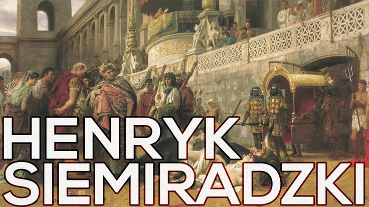 Henryk Siemiradzki: A collection of 137 paintings (HD)