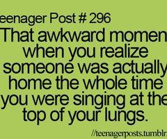 Lol awkward