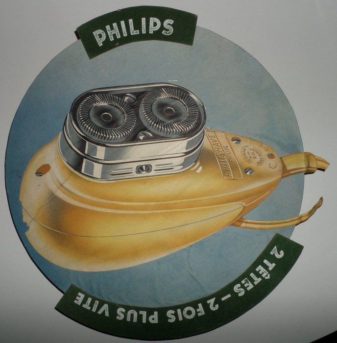 Reclame: Philips Philishave - ca. jaren 1950
