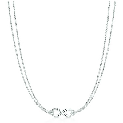 Tiffany Infinity Necklace - What more could a girl ask for? Tiffany and Infinity. It's perfect.