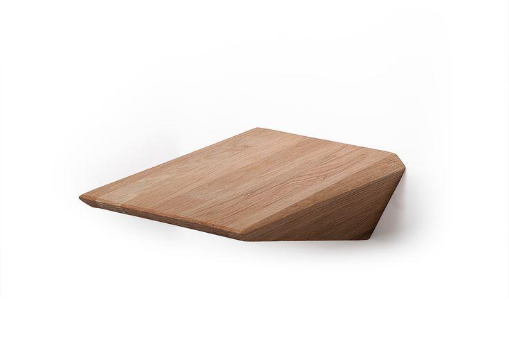 Sängbord Cliff Hanger i ek för ditt sovrum - bedside table Cliff Hanger in oak for your bedroom - Welander design