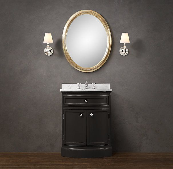 Odéon Powder Room Vanity Sink | Odéon | Restoration Hardware