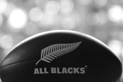 All Blacks love.