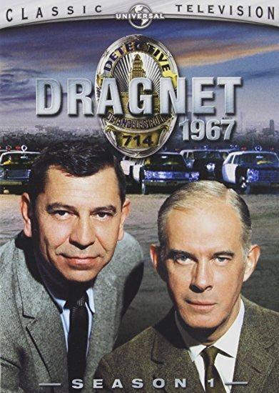 Jack Webb & Harry Morgan - Dragnet 1967: Season 1