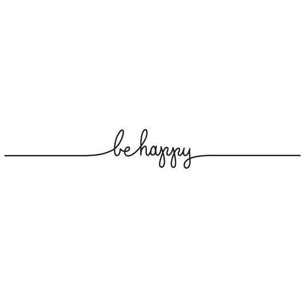 N*E*W Tatouage be happy - TATTLY