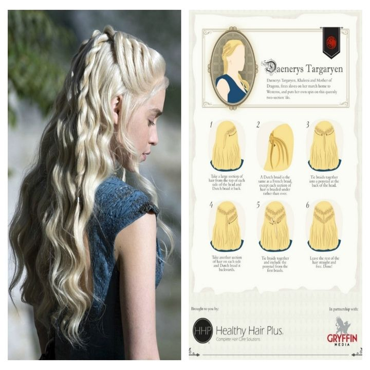 Game Of Thrones Rules The Realm Of Hair. Stunning Hairstyles to try this weekend   Game of Thrones is one inspiring movie in many ways because of the talented actors, great filming sets, astonishing costumes and many other reasons. If you simply l