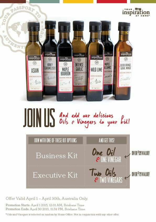 Join us in April to get some freebies