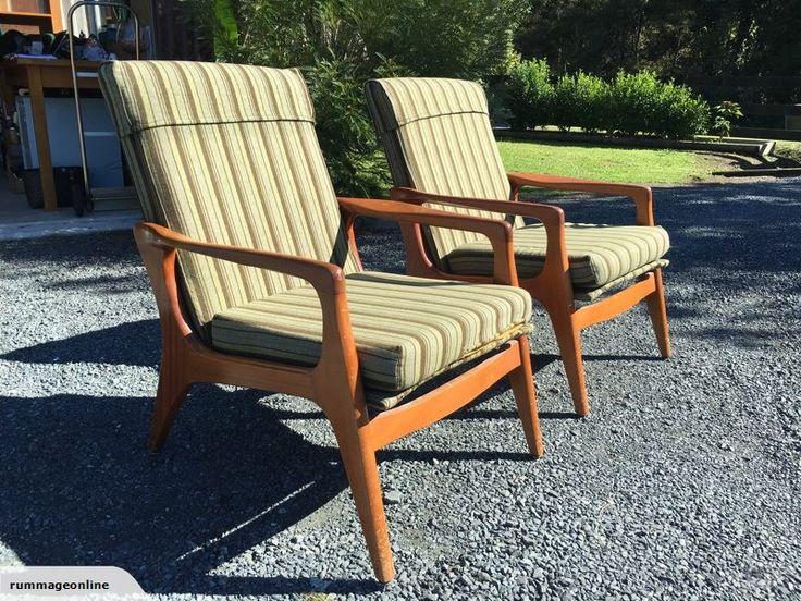 Classic Fler Retro Armchairs | Trade Me